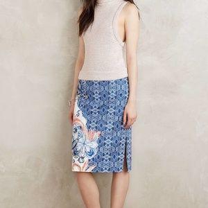 508d9e07b Moulinette Soeurs Skirts | Anthropologie White Linen Skirt | Poshmark